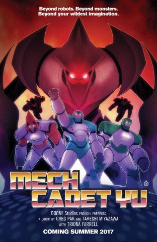 Mech Cadet Yu #1 (Doe Homage Cover)