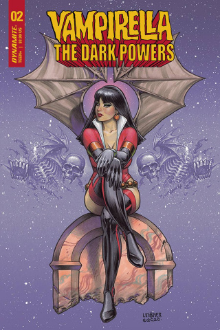 Vampirella: The Dark Powers #2 (Linsner Cover)
