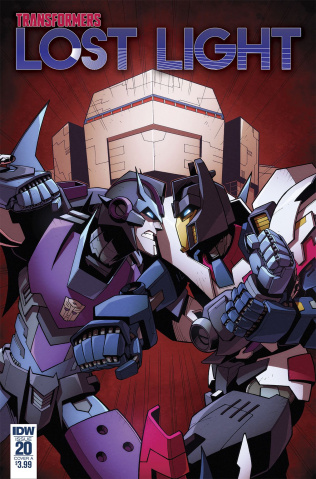 The Transformers: Lost Light #20 (Lawrence Cover)