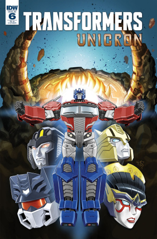 The Transformers: Unicron #6 (10 Copy Cover)