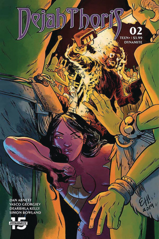 Dejah Thoris #2 (Henderson Cover)