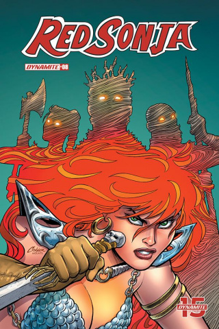 Red Sonja #8 (Conner Cover)