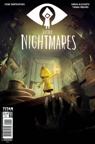 Little Nightmares #1 (Videogame Cover)