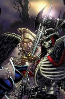 Grimm Fairy Tales #95 (Siqueira Cover)