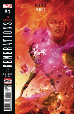 Generations: Phoenix & Jean Grey #1 (2nd Printing Mattina Cover)