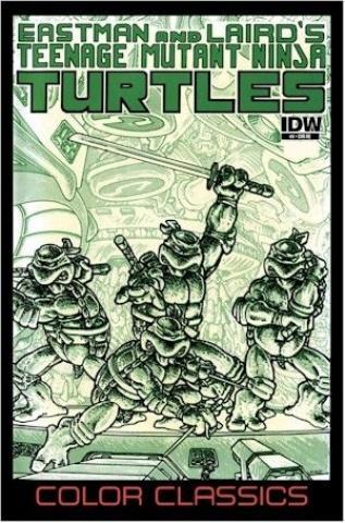 Teenage Mutant Ninja Turtles: Color Classics #5 (Jetpack Comics Edition)