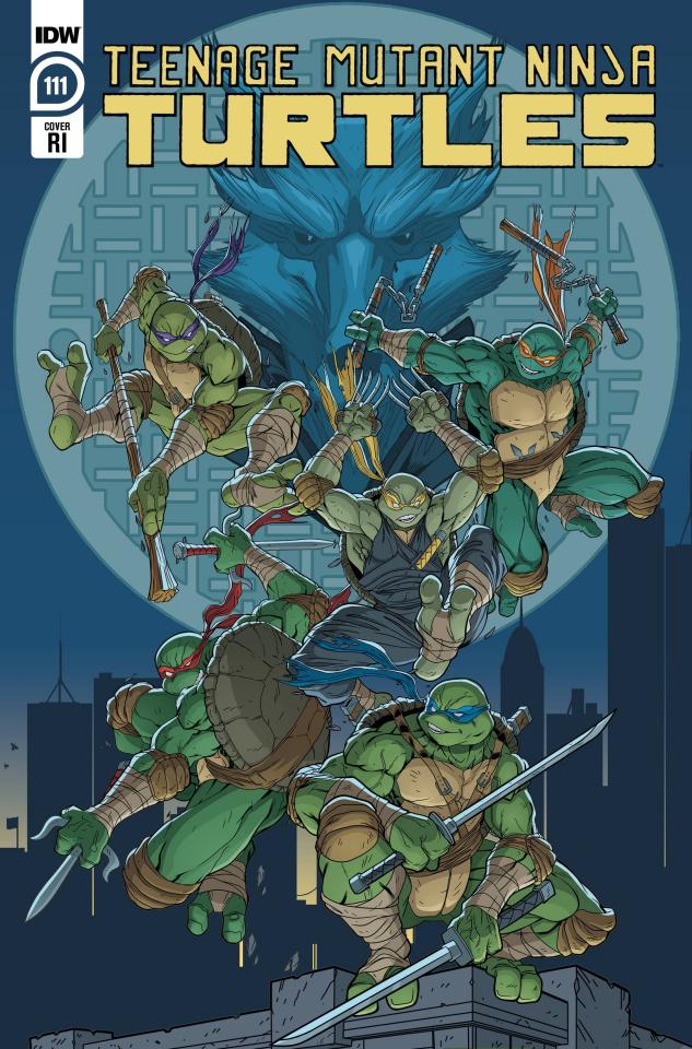 Teenage Mutant Ninja Turtles #111 (10 Copy Lubera Cover)