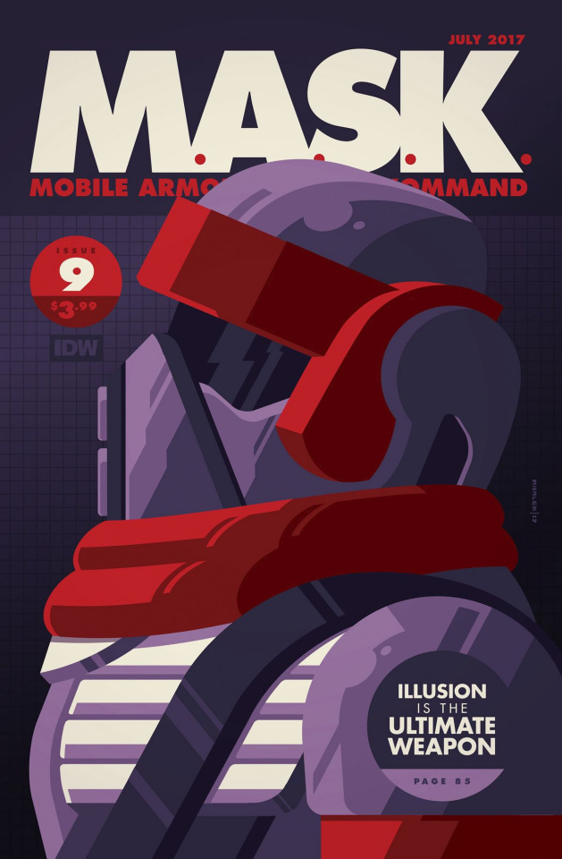 M.A.S.K.: Mobile Armored Strike Kommand #9 (Whalen Cover)