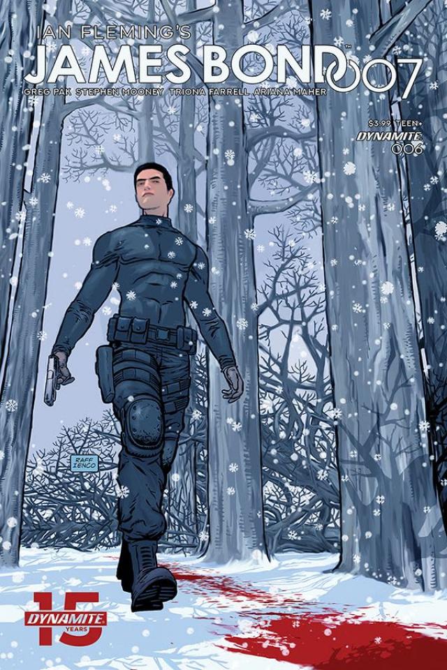 James Bond: 007 #6 (Ienco Cover)