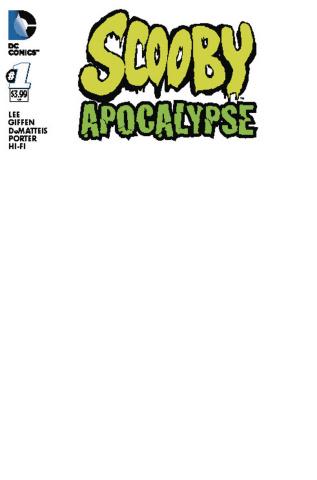 Scooby: Apocalypse #1 (Blank Cover)