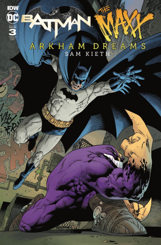 Batman / The Maxx: Arkham Dreams #3 (10 Copy Rodriguez Cover)