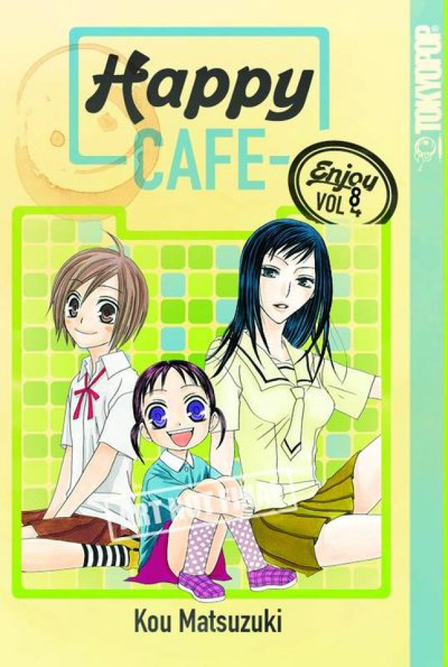 Happy Cafe Vol. 8