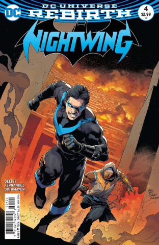 Nightwing #4 (Variant Cover)