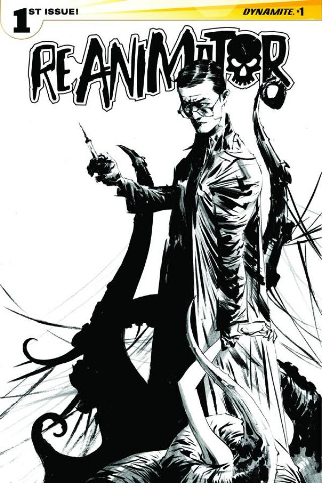 Reanimator #1 (25 Copy Lee B&W Cover)