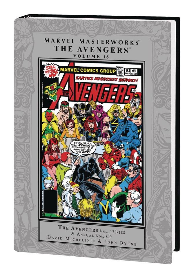 Avengers Vol. 18 (Marvel Masterworks)