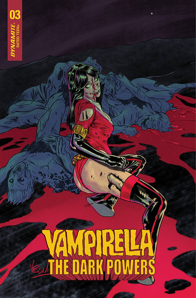 Vampirella: The Dark Powers #3 (15 Copy Federici Cover)