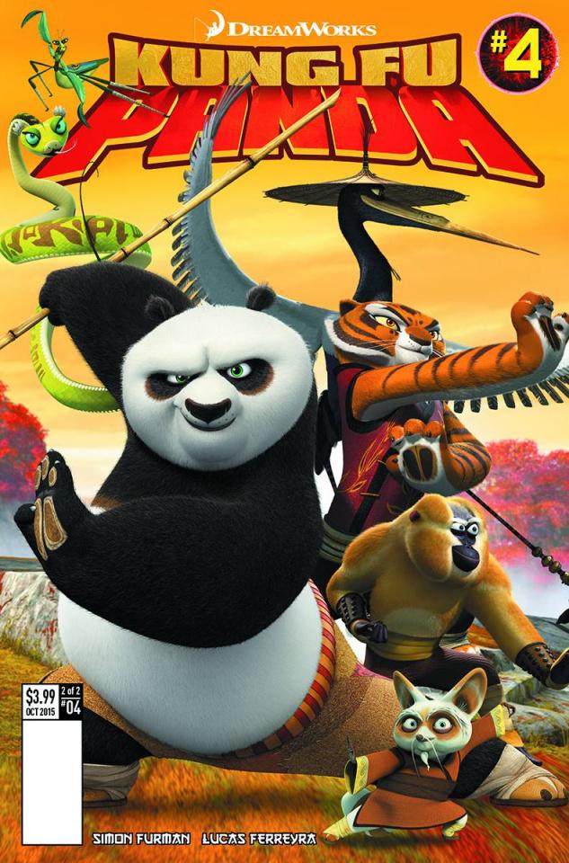 Kung Fu Panda #4 (Subscription Photo Cover)