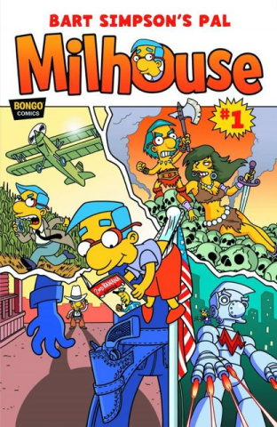 Bart Simpson's Pal Milhouse #1