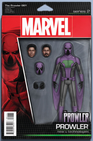 The Prowler #1 (Christopher Action Figure Cover)