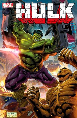 Hulk #1 (Infinity Saga Phase One Cover)