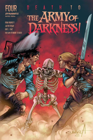Death to the Army of Darkness #4 (Davila Cover)