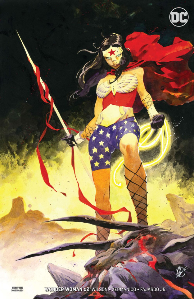 Wonder Woman #62 (Variant Cover)