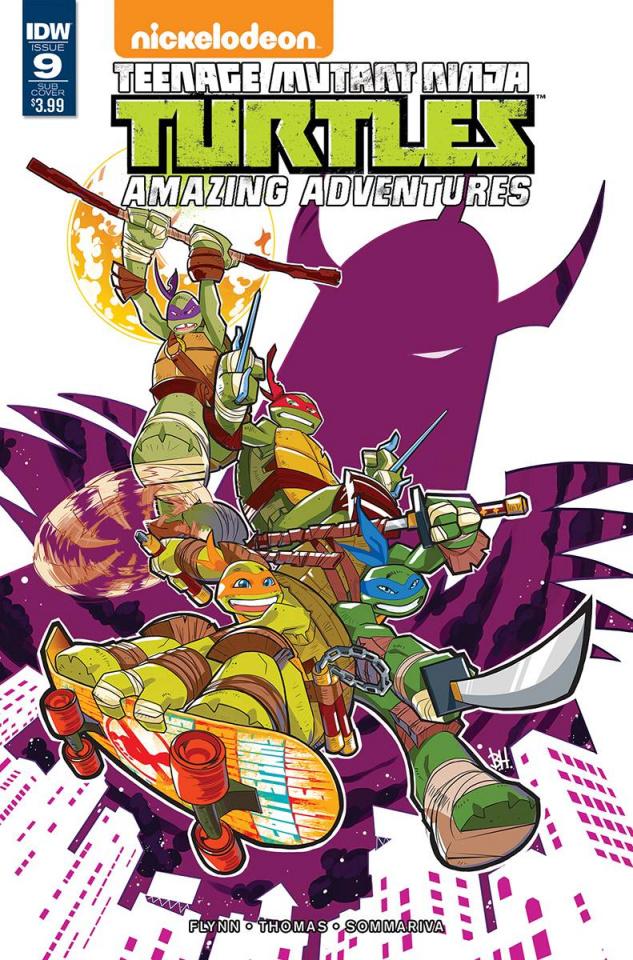 Teenage Mutant Ninja Turtles: Amazing Adventures #9 (Subscription Cover)