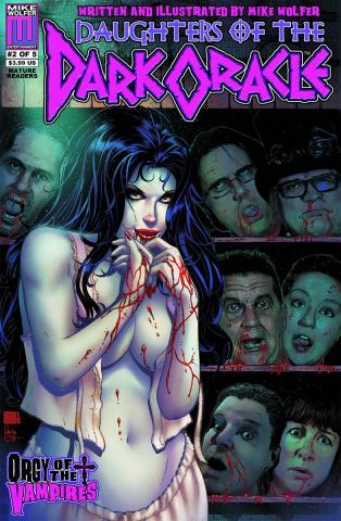 Daughters of the Dark Oracle #2 (Orgy of Vampires)