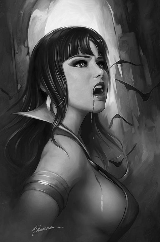 Vampirella #21 (21 Copy Maer B&W Virgin Cover)