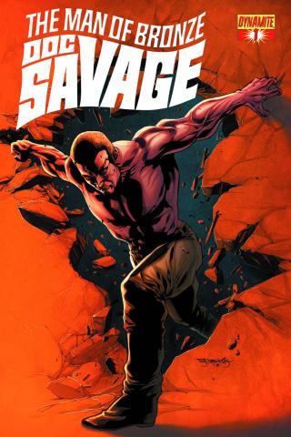 Doc Savage #1 (Segovia Cover)