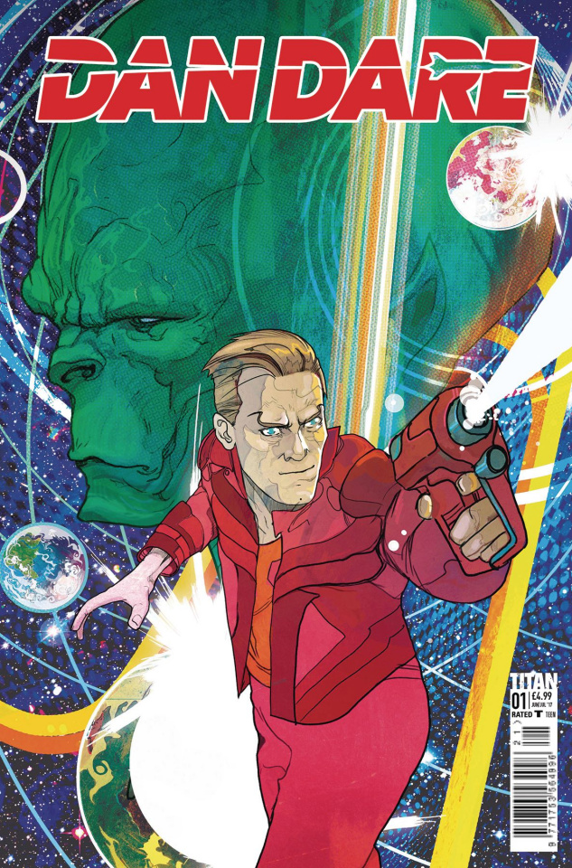 Dan Dare #1 (Ward Cover)