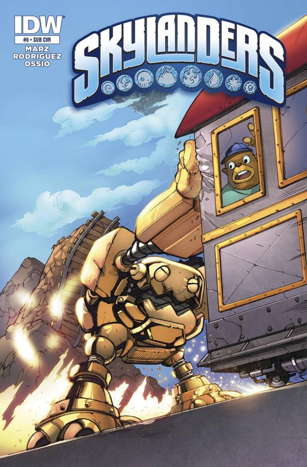 Skylanders #6 (Subscription Cover)