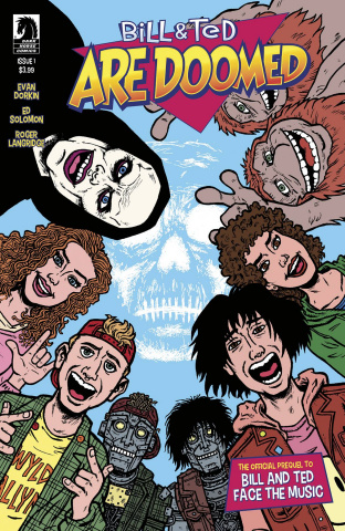Bill & Ted Are Doomed #1 (Dorkin Cover)