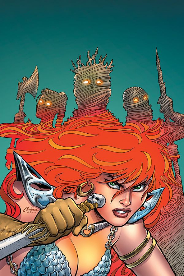 Red Sonja #8 (Conner Virgin Cover)