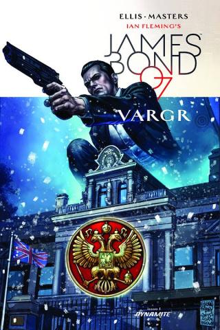James Bond #1 (50 Copy Fabry Unique Cover)