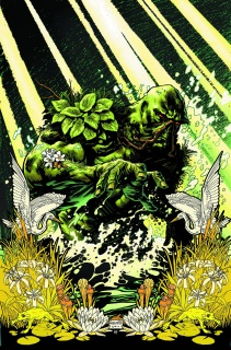 Swamp Thing by Scott Snyder (Deluxe Edition)