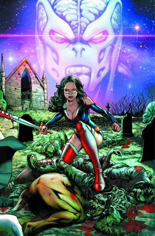 Grimm Fairy Tales: Hunters - Shadowlands #1 (Spay Cover)