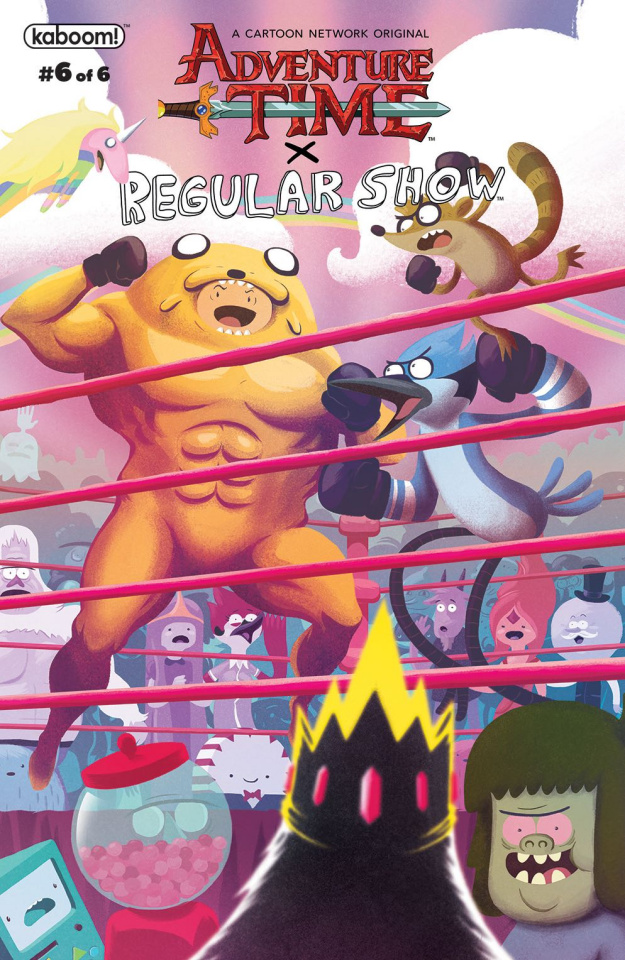 Adventure Time: Regular Show #6 (Subscription Bayliss Cover)