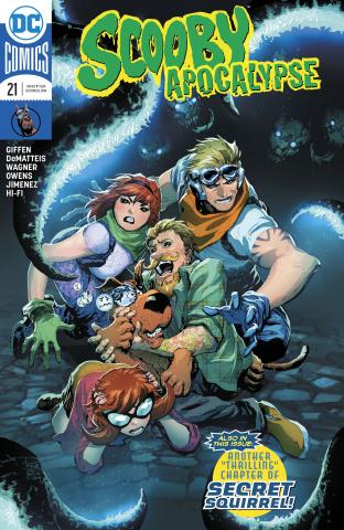 Scooby: Apocalypse #21 (Variant Cover)