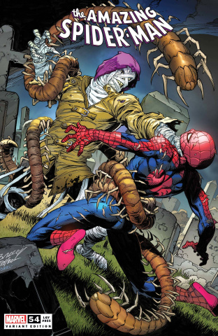 The Amazing Spider-Man #54 (Bagley Cover)