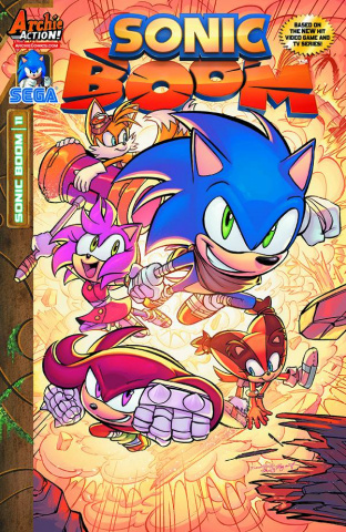 Sonic Boom #11 (Skelly Cover)