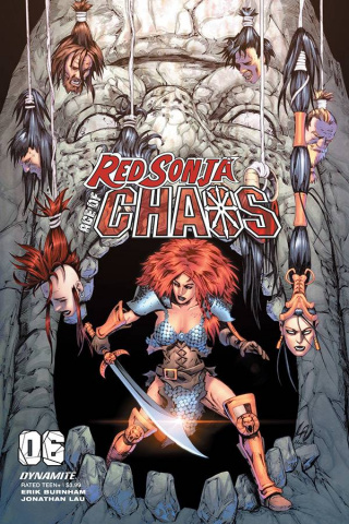 Red Sonja: Age of Chaos #6 (Lau Cover)