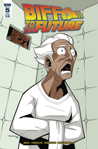 Back to the Future: Biff to the Future #5 (Subscription Cover)