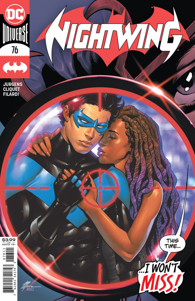 Nightwing #76 (Travis Moore Cover)