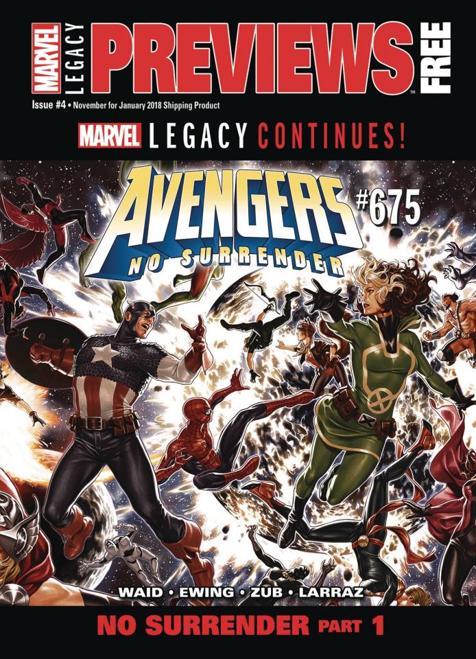 Marvel Previews #4: November 2017 Extras