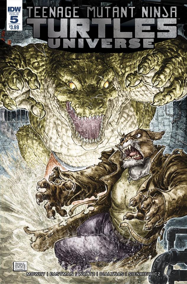 Teenage Mutant Ninja Turtles Universe #5