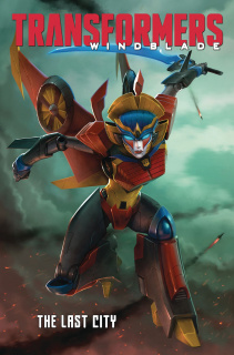 The Transformers: Windblade - Last City