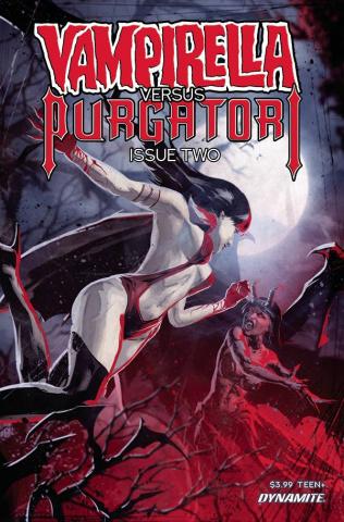 Vampirella vs. Purgatori #2 (Kudranski Cover)