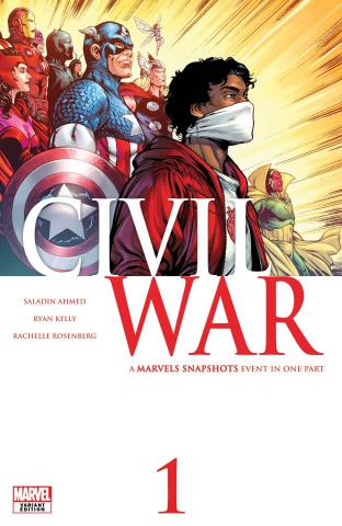 Marvels Snapshots: Civil War #1 (Kelly Cover)