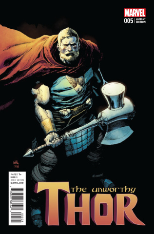 The Unworthy Thor #5 (Yu Cover)